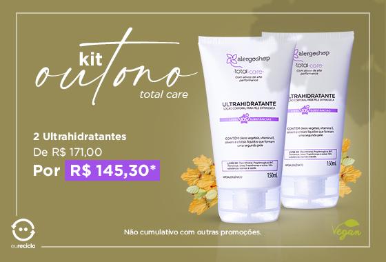 Kit Loção Ultrahidratante Vegano