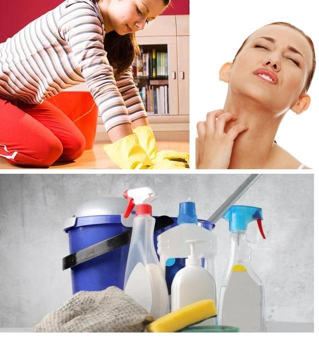 Chega de alergia a produtos de limpeza!