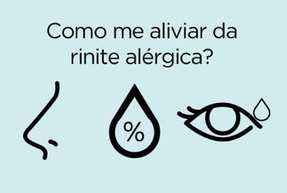 Como aliviar a rinite alérgica?