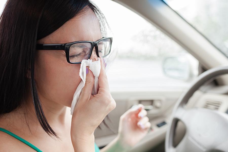 Dicas para acabar com as alergias no carro!