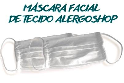 Saiba mais sobre as Máscaras Laváveis Alergoshop - Conheça nossos diferenciais!