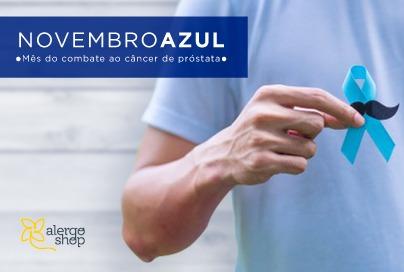 Novembro Azul - Campanha de prevenção ao câncer de próstata