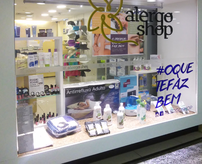 Alergoshop lança novo site com recurso inédito para alérgicos