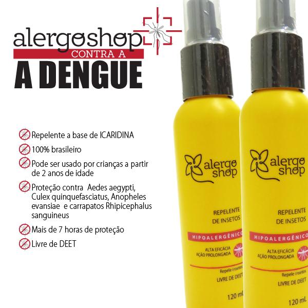 Dengue: procure por repelentes com Icaridina
