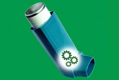 Como funcionam as bombas de asma?