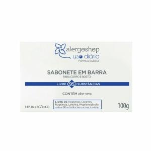 Sabonete Aloe Vera Uso Diário Alergoshop