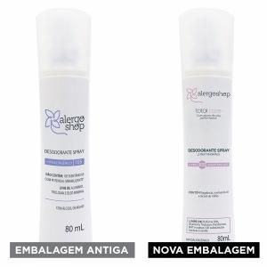Desodorante Spray Le Fruit Hipoalergênico Total Care