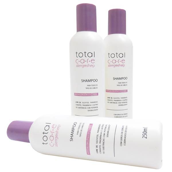 Shampoo Hipoalergênico Total Care