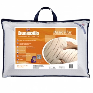 Travesseiro Dunlopillo Basic Flat