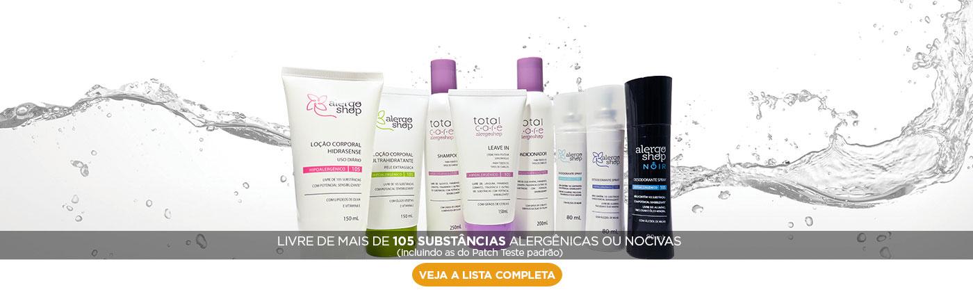 Total Care livre de 105 substâncias