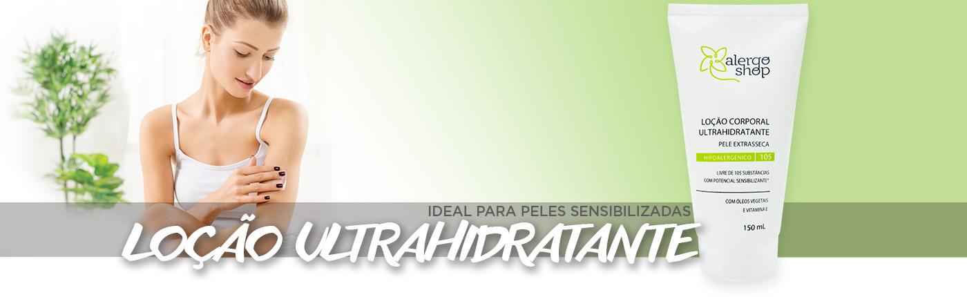 loção ultrahidratante