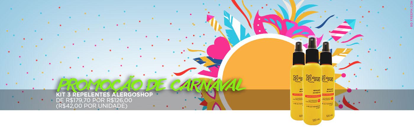 Kit de Carnaval - Repelentes