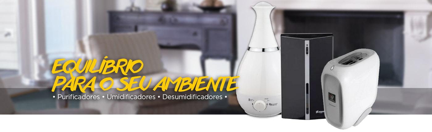 aparelhos de tratamento do ar